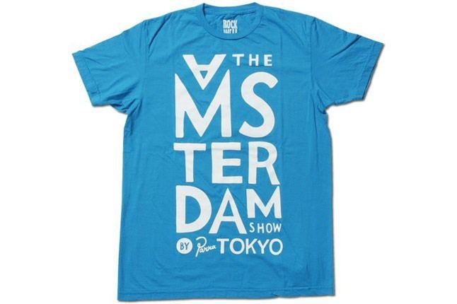 Amsterdam By Parra T Shirt Blue 1