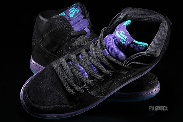 Nike Dunk High Grape 5