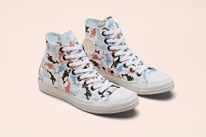 Millie Bobby Brown Converse Chuck Taylor All Star By You Collaboration Release Date Multicolour Whales