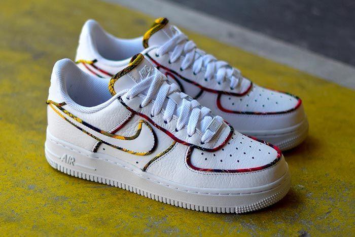 Nike Air Force 1 Tartan Release