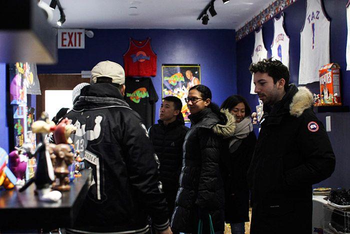 Extra Butter New York Space Jam Jordan 11 Pop Up 1