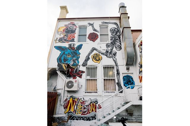 Converse Sneakers Clash Wall Fremantle 3