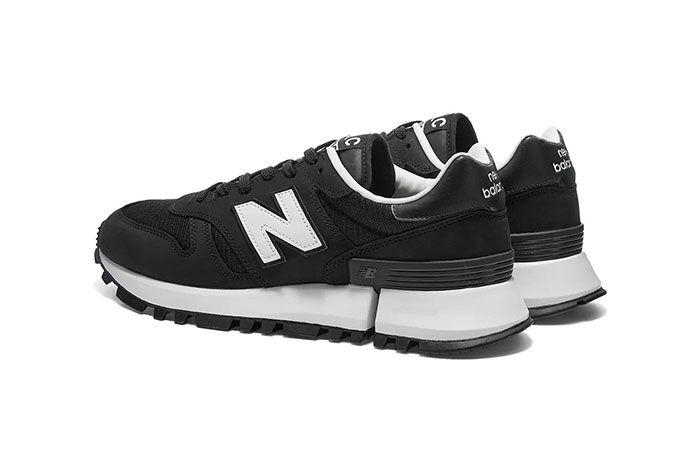 Comme Des Garcon New Balance Rc1300 Black Heel