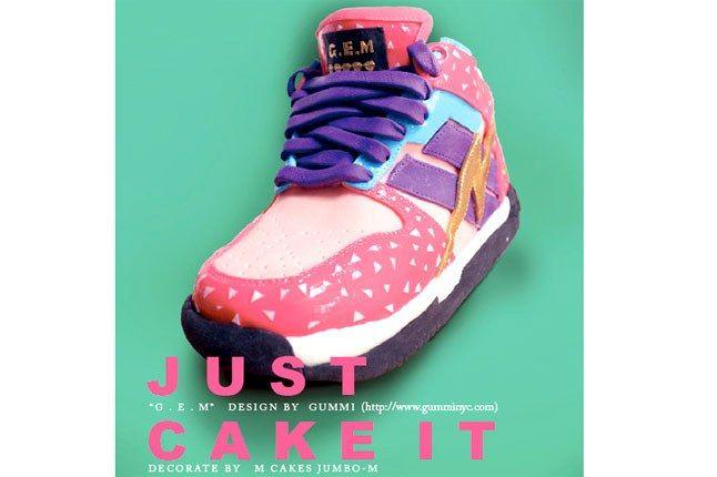 Mcake Sneaker 3 D Cake 1