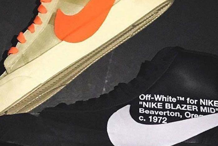 Off White Nike Blazer Halloween 1 Sneaker Freaker