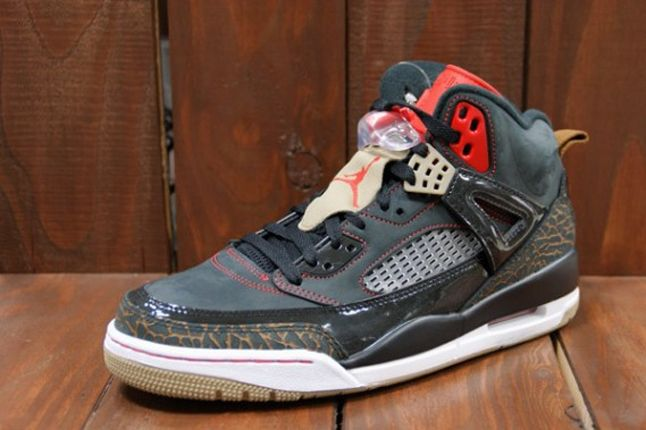 Air Jordan Spizike Blk Challenge Red Profile Outer 1