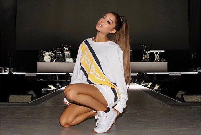 Ariana Grande Signs To Reebok 1