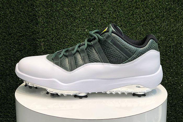 Air Jordan 11 Low Golf Masters Augusta Release Date 5 Side