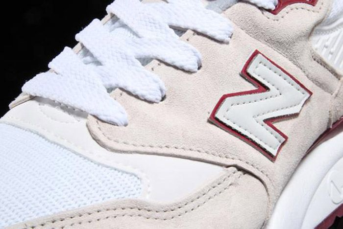 New Balance 998 White Burgundy Curry Made In Usa 6