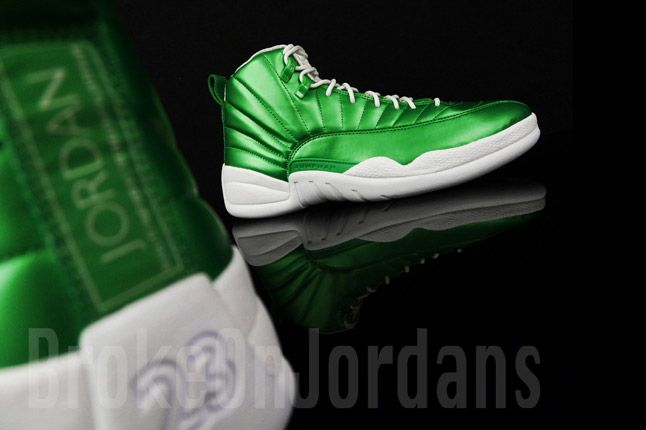 Jordan 12 Metallic Green Sample 10 1