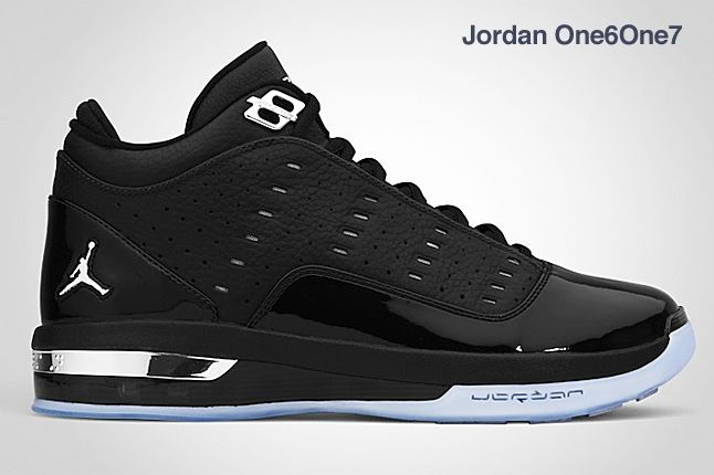 Jordan One 6 One 7 Black 1