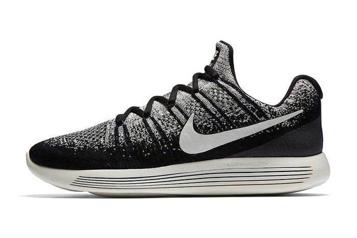 Nike Gyakusou Lunarepic Flyknit Low 2 Black White 4