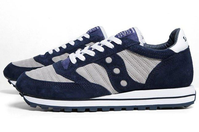 Saucony White Mountaineering Jazz Original Navy 1