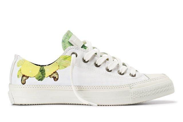 Converse Isolda Sneaker Collection Green Leaves