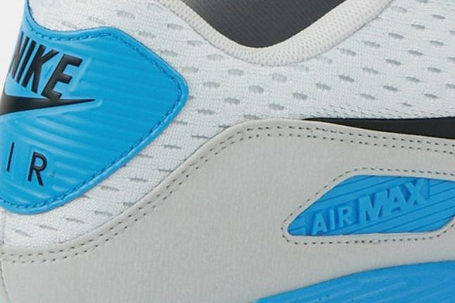Nike Air Max 90 Premium Em White Blue Detail 1