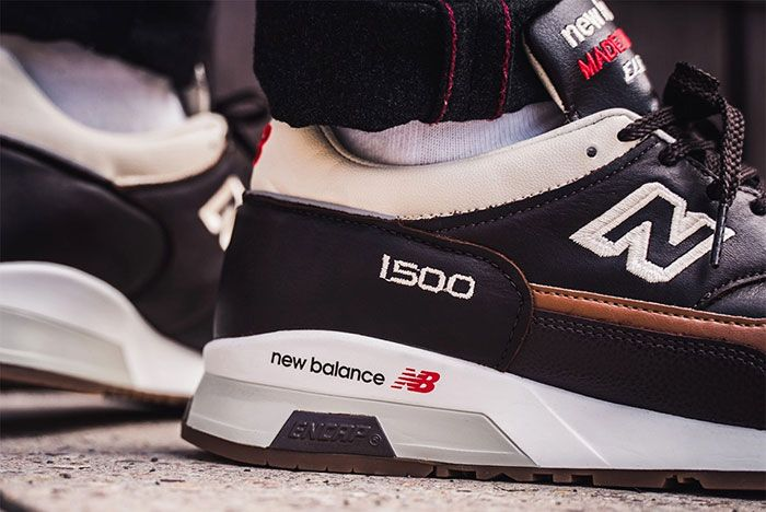 New Balance 1500 M1500Gnb Elite Gent Brown Heel Detail