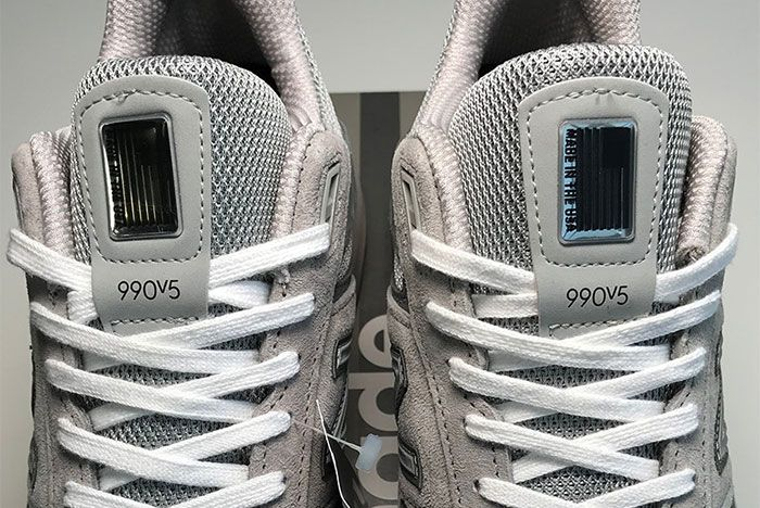 New Balance 990 V5 Toes