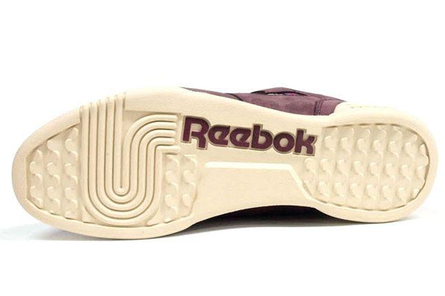 Reebok Workout Plus Vintage Burgundy Sole 1