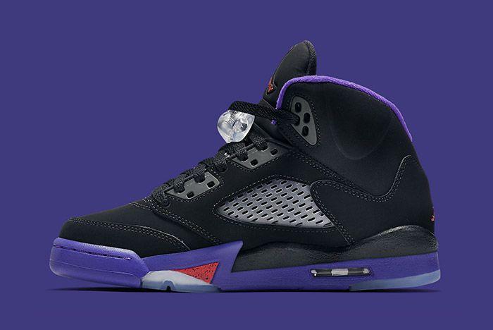 Air Jordan 5 Retro Gs Fierce Purple Raptors 5