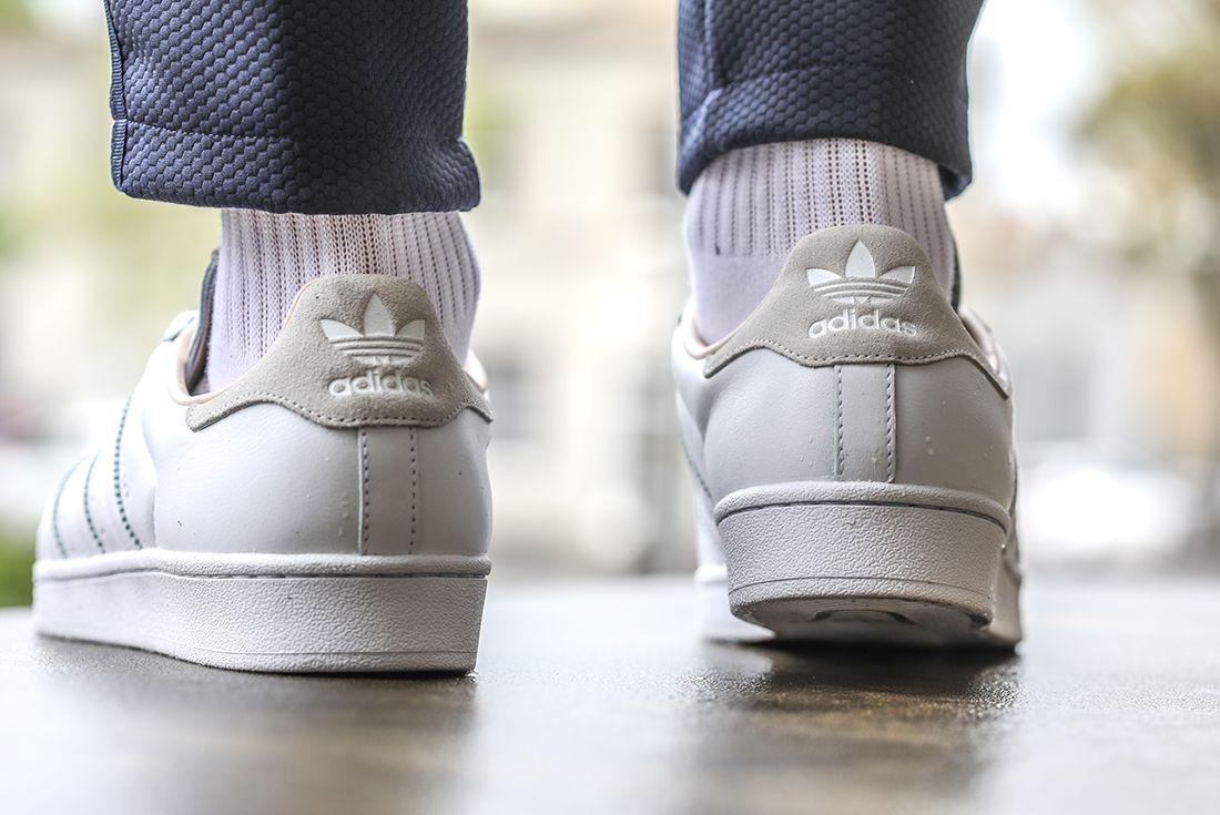 Adidas Superstar Home Of Classics Heel Left