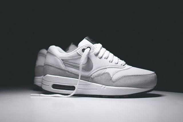 Nike Air Max 1 Wmns White Grey Mist 7