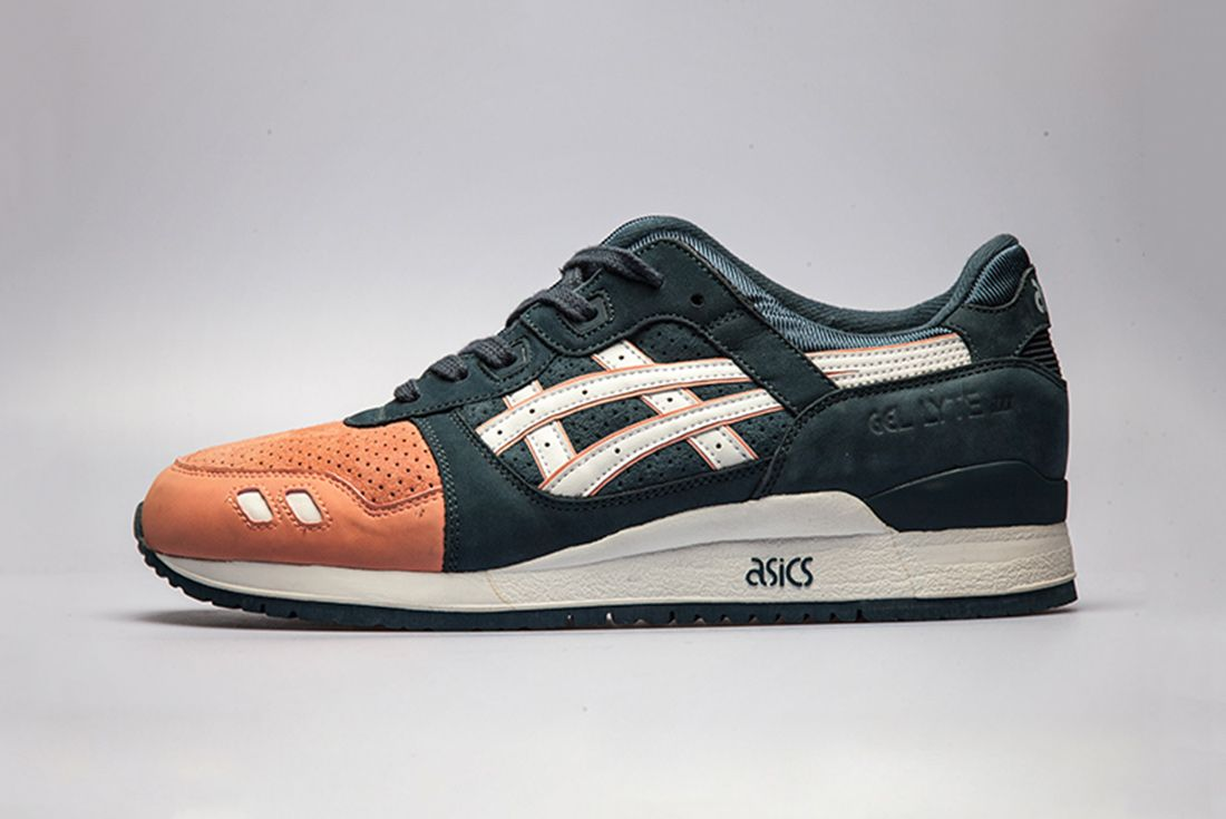 Ronnie Fieg Asics Gel Lyte Iii Salmon Toe Left Side