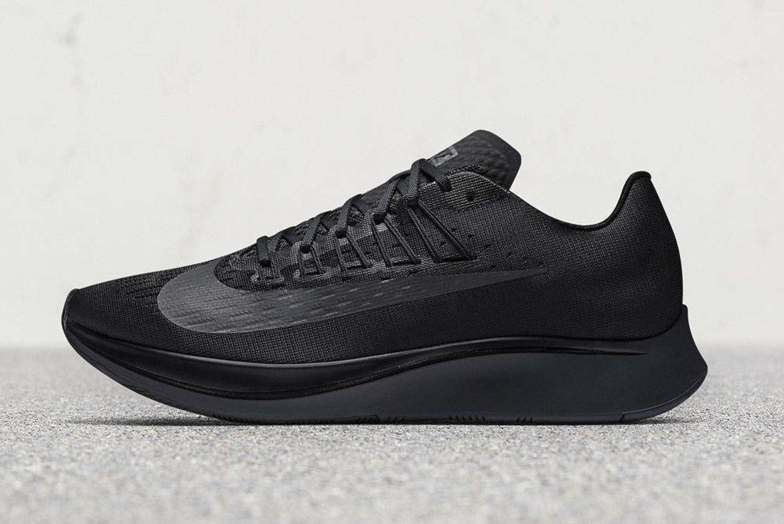 Nike Zoom Fly Triple Black 4