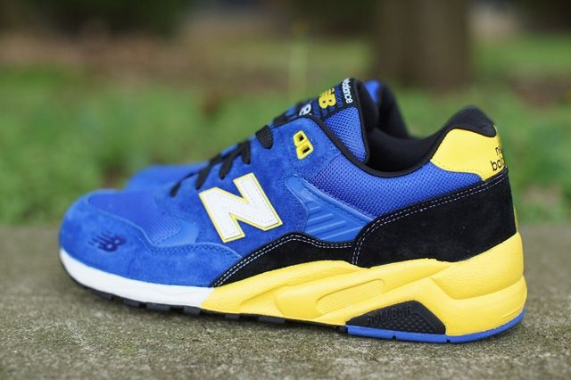 New Balance 580 Blue Yellow 1