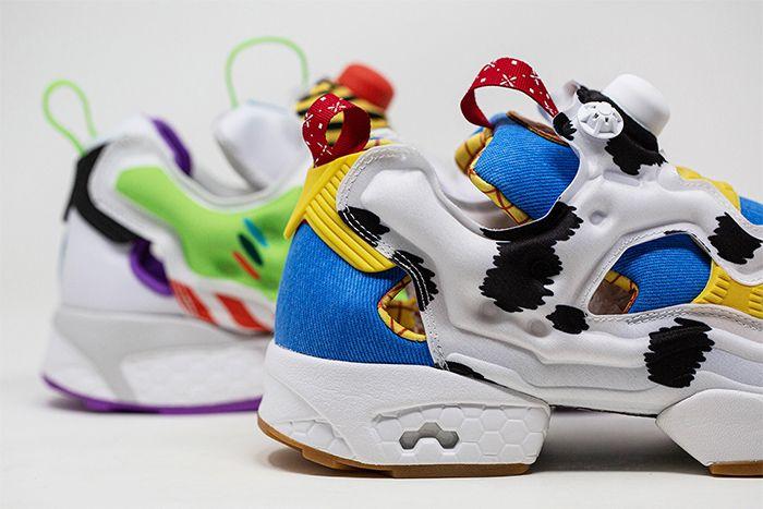Bait Reebok Instapump Fury Toy Story 4 Woody Heel