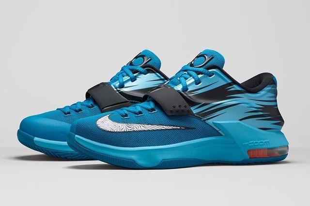 Nike Kd 7 Lacquer Blue Bump 5