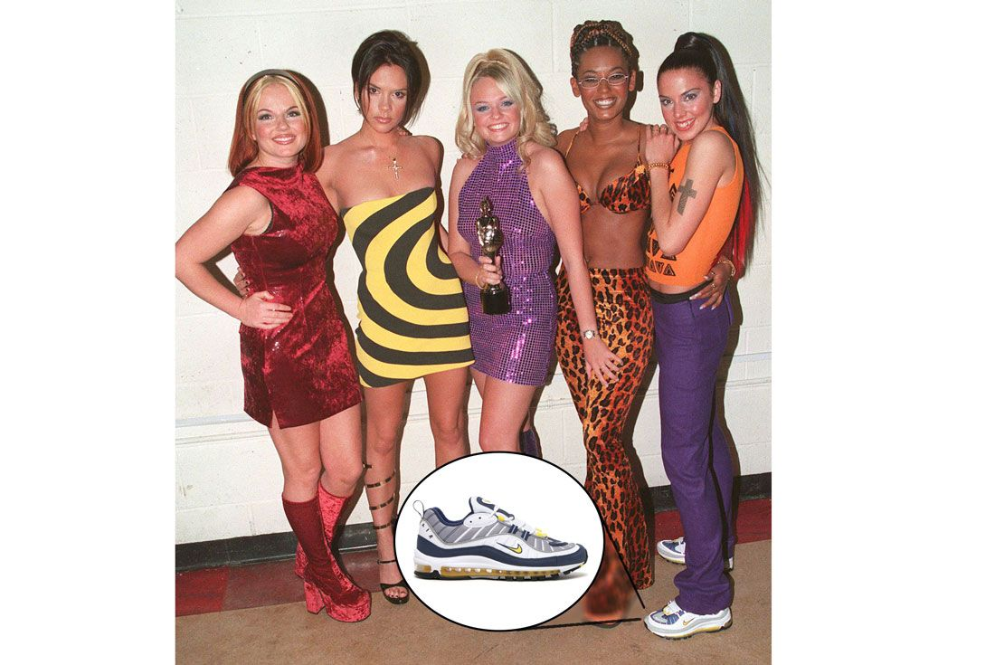 Spice Girls Sporty Spicenike Air Max 98
