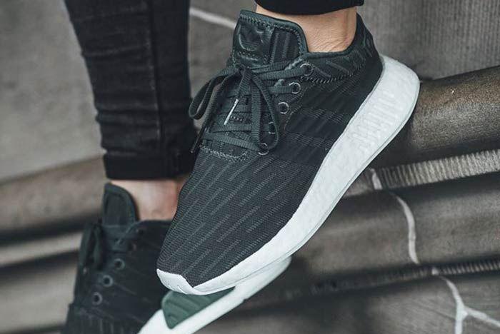 Adidas Nmd R2 Green 3