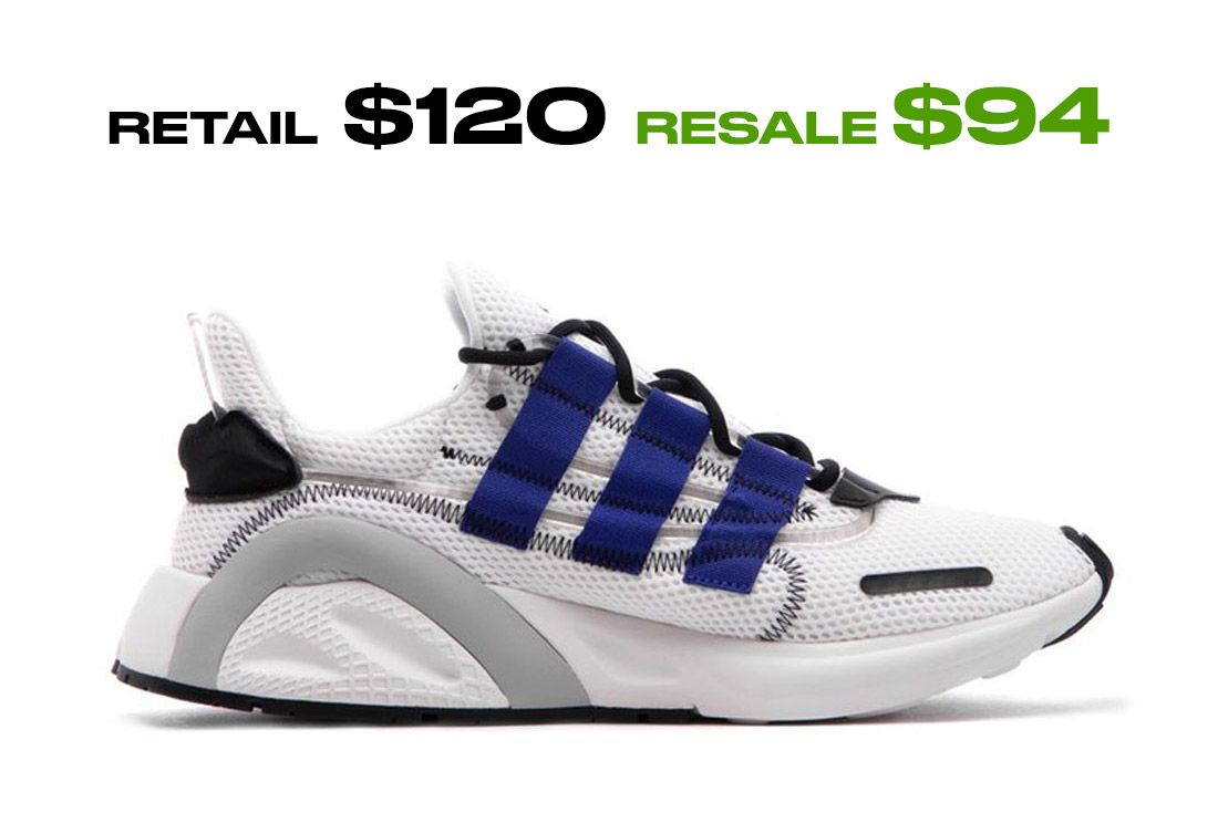 Adidas Lxcon Cloud White Right Side Shot