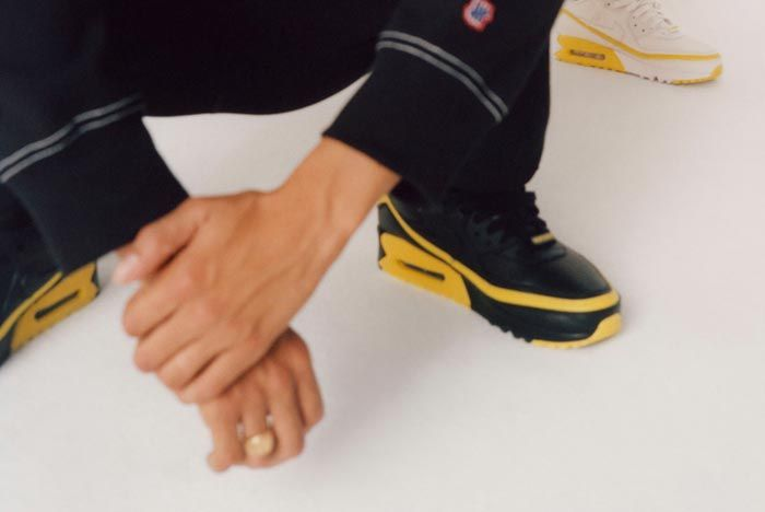 Undefeated Nike Air Max 90 Black Yellow