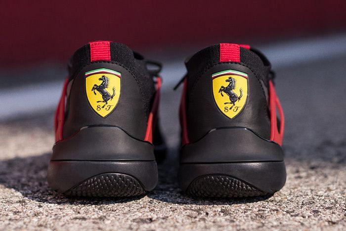 Puma X Ferrari X Nice Kicks Evo Cat Lace 1