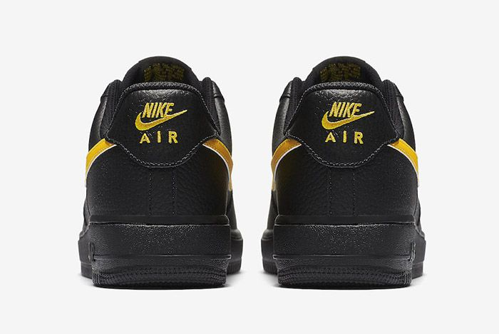 Nike Air Force 1 07 Lv8 Black Amarillo 2