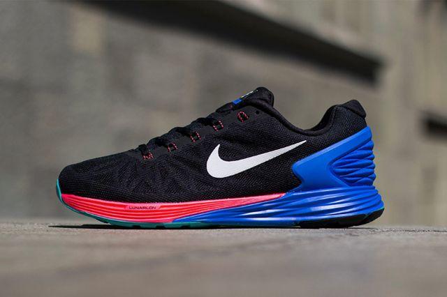 Nike Lunarglide 6 Hyper Punch Hyper Cobalt 1