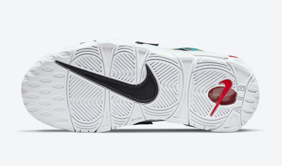 Nike Air More Uptempo Peace Love Swoosh