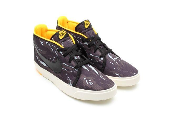 Nike Toki Cc Ripstop Camo Pack Yellow Hero 1