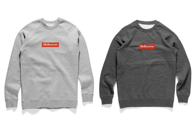 Bbot Defence Melbourne Box Logo Sweats 2