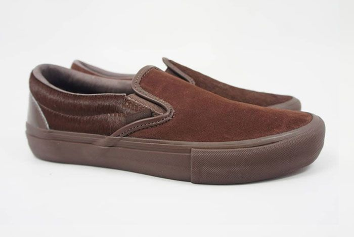 Engineered Garments Vans Vault Slip On Cow Brown Right Lateral