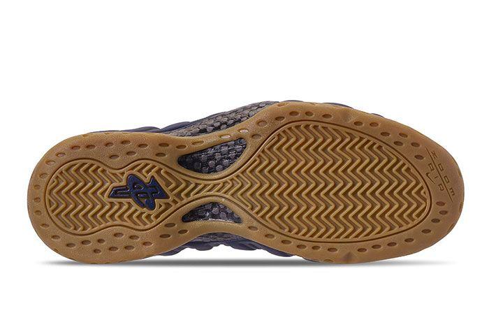 Nike Foamposite One Navy Gum Photos 1 Sneaker Freakee