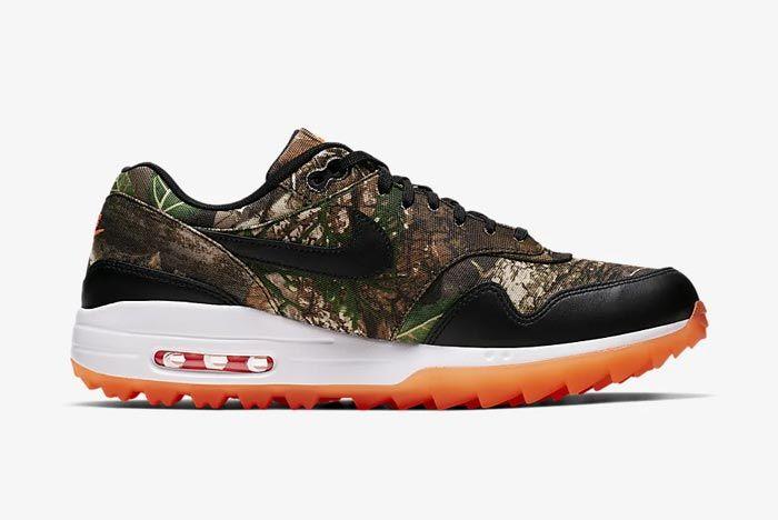 Nike Air Max 1 Golf Realtree Camo Medial