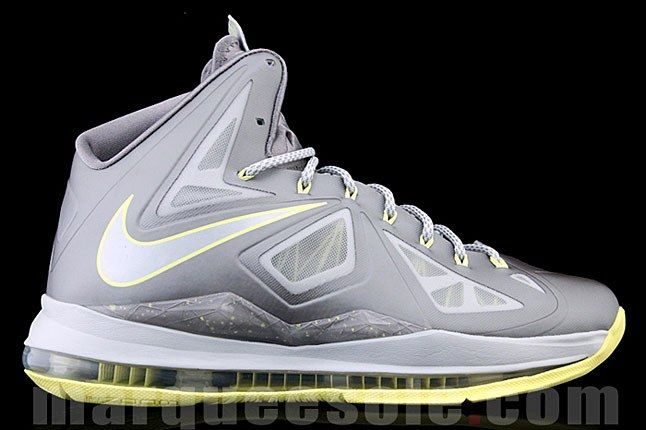 Nike Lebron X Canary Yellow 1