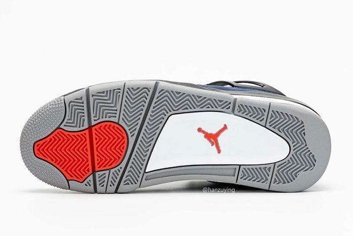 Air Jordan 4 Wntr Loyal Blue Cq9597 401 Release Date 6 Sole