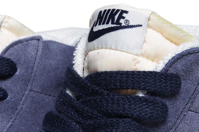 Nike Blazer Mid Suede Obsidian Deep Royal Tongue 1
