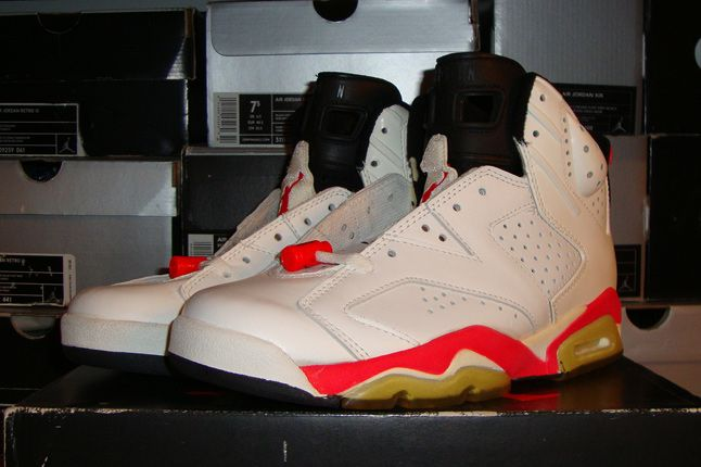 Rebecca Dahms Wmns Basketball Collection Air Jordan 6 Infrared Og White Front 1