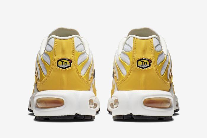 Nike Air Max Plus White Yellow Hel Shot 2