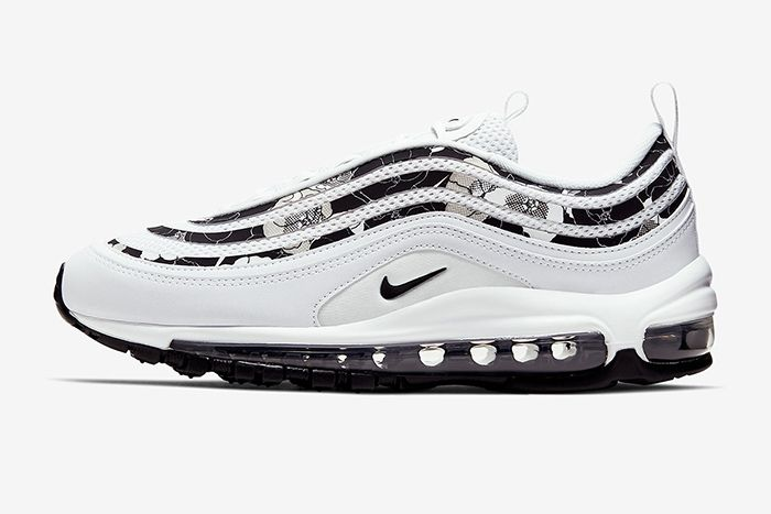Nike Air Max 97 Floral White Bv0129 100 Release Date Lateral