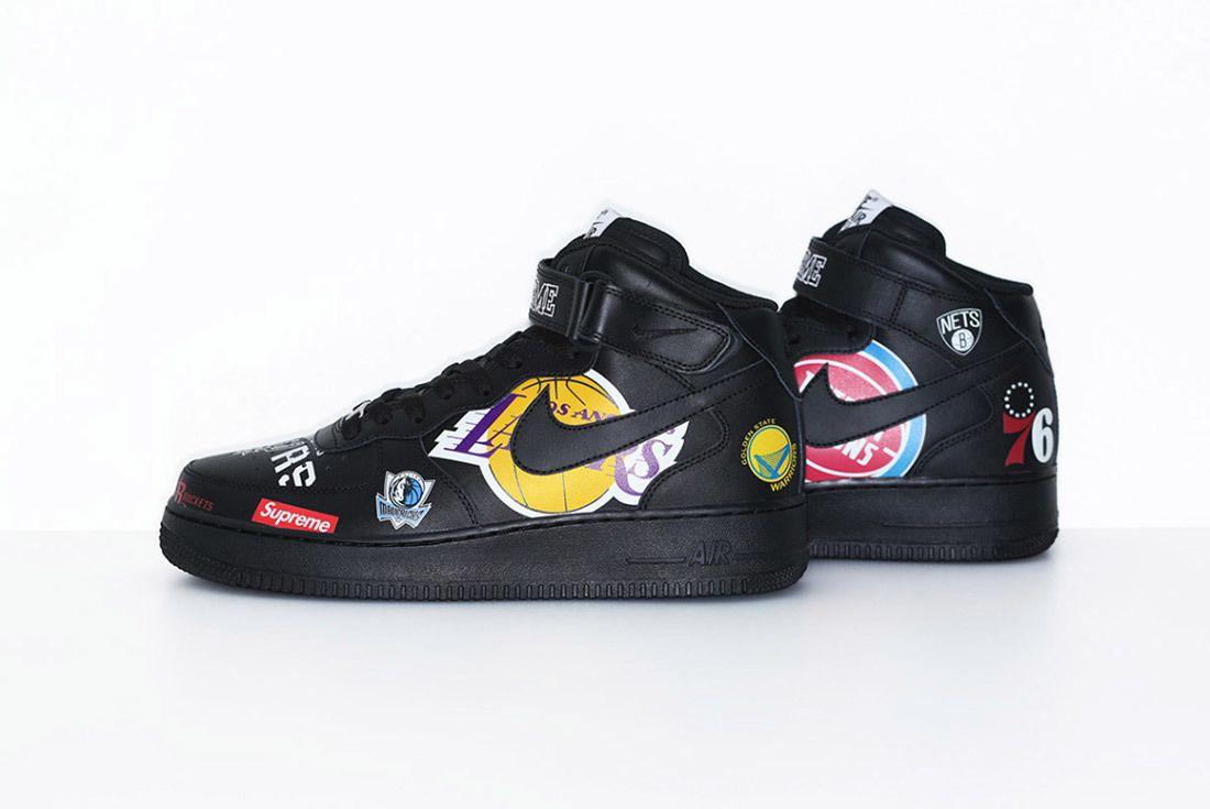 Supreme Nike Nba Air Force 1 High Sneaker Freaker 11